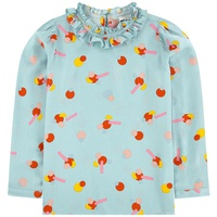 Stella McCartney Kids Print blouse with a Peter Pan collar