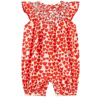 Stella McCartney Kids Printed organic cotton shortall