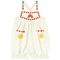 Stella McCartney Kids Linen playsuit