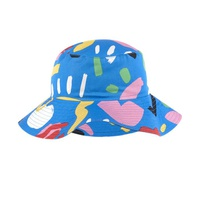 Stella McCartney Kids Printed organic cotton hat