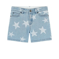 Stella McCartney Kids Stone-washed jean shorts