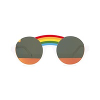 Stella McCartney Kids Round sunglasses with mirror lenses