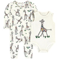 Stella McCartney Kids Organic cotton jumpsuit and bodysuit