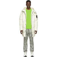 Off-White Down Hooded Puffer Jacket