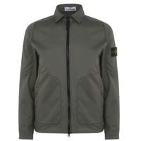 STONE ISLAND Stretch Cotton Over Shirt
