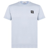 STONE ISLAND Badge Logo T Shirt