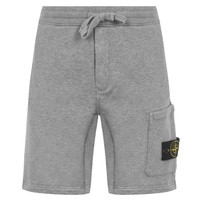 STONE ISLAND Badge Pocket Fleece Shorts