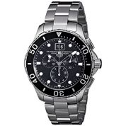 TAG Heuer Mens CAN1010BA0821 Aquaracer Stainless Steel Chronograph Watch