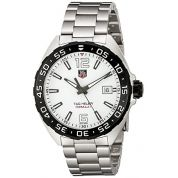 TAG Heuer Mens WAZ1111.BA0875 Silver-Tone Stainless Steel Watch