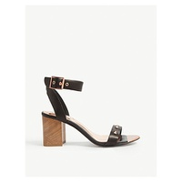 TED BAKER Biah studded leather heeled sandals