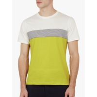 Ted Baker Wabadoo Stripe Cotton T-Shirt, Lime