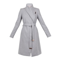 Ted Baker Sandra Long Wool Wrap Coat