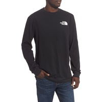 THE NORTH FACE Red Box Long Sleeve Crewneck T-Shirt
