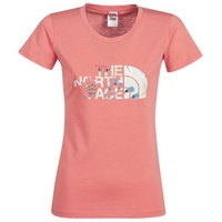 The North Face WOMEN?S S/S EASY TEE Coral