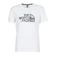 The North Face WOODCUT DOME TEE White