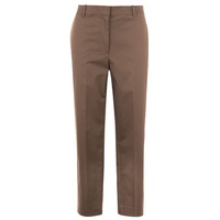 THEORY High Waisted Straight Trousers