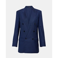 Theory Straight Double-Breasted Jacket