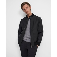Theory Reversible Bomber Jacket in Wool