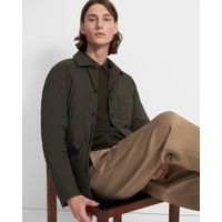 Theory Walker Shirt Jacket in Paper Nylon