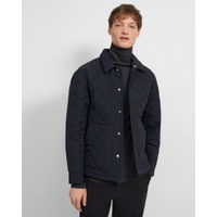 Theory Shirt Jacket in Quilted Nylon