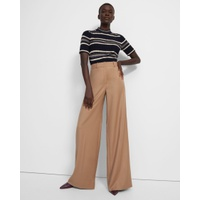 Theory Terena Pant in Sleek Flannel