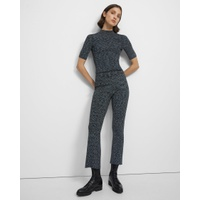 Theory Pull-On Kick Pant in Space Dyed Viscose