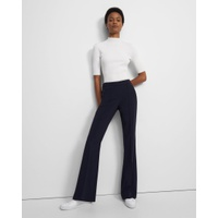 Theory Demitria Pull-On Pant in Crepe