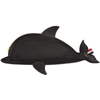 Black Dolphin Flat Clutch