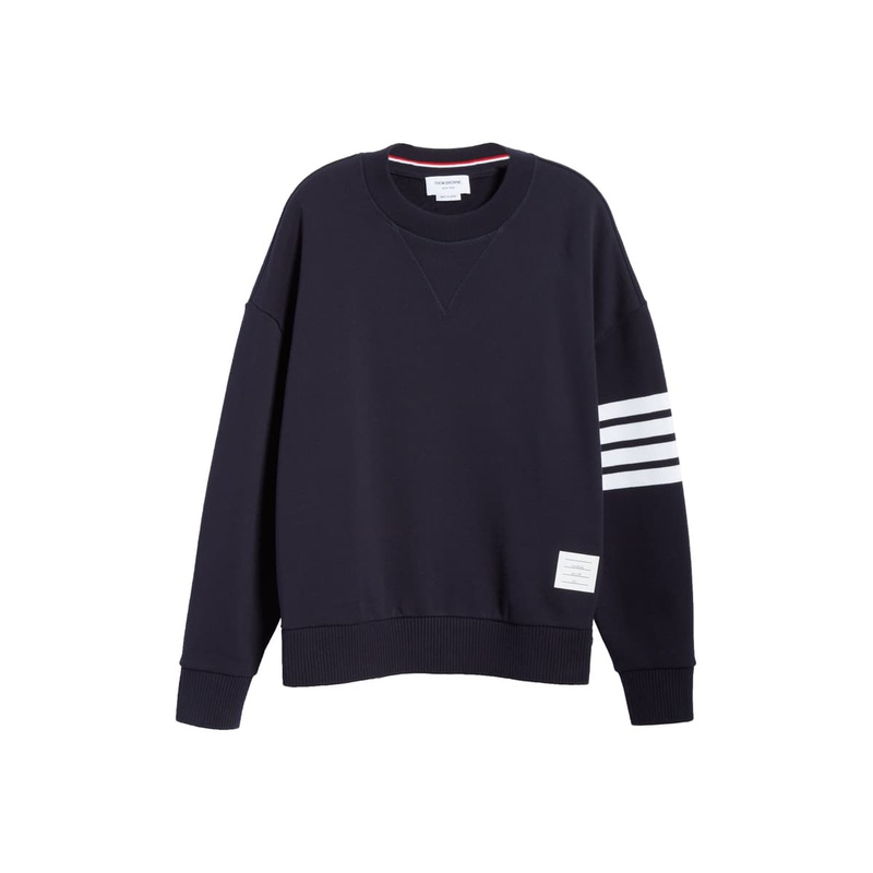 톰브라운 THOM BROWNE Four-Bar Sweatshirt