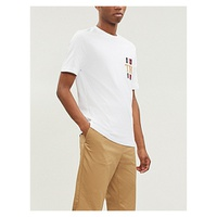 TOMMY HILFIGER Branded pure cotton T-shirt