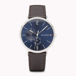 Tommy hilfiger Dual Dial Brown Strap Watch