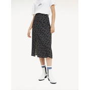 Tommy hilfiger Neon Outline Print Midi Skirt