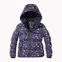 Tommy hilfiger All-Over Floral Print Puffer Jacket