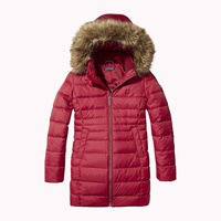 Tommy hilfiger Detachable Hood Quilted Coat