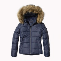 Tommy hilfiger Jacket With Faux Fur Trim Hood