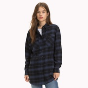 Tommy hilfiger Plaid Check Boyfriend Shirt