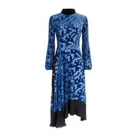 Tory Burch Leah Devoré Velvet Dress