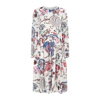 Tory Burch London Floral Silk Dress