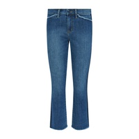 Tory Burch Harley Frayed Crop Jeans