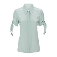 Tory Burch Embroidered Silk Blouse