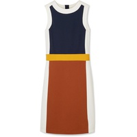 Tory Burch Mya color-block stretch-jersey dress