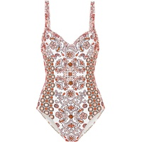 Tory Burch Hicks Garden printed underwired swimsuit
