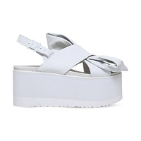 UGG x PREEN Moon Bow leather sandals
