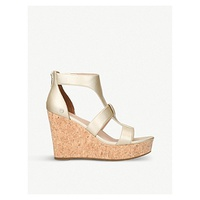 UGG Whitney leather platforms