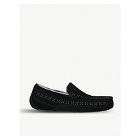 UGG Ascot stitch-detail suede loafers