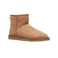 UGG Classic II Mini Sheepskin Ankle Boots, Chestnut