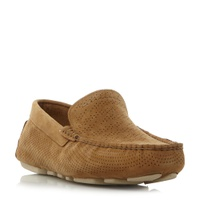 UGG Henrick Stripe Leather Driving Shoes