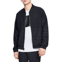 UNDER ARMOUR Unstoppable Water Repellent Embossed Performance Bomber Jacket