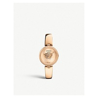 VERSACE VCQ00718 Palazzo Empire rose gold-tone stainless steel watch
