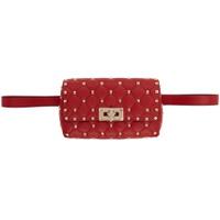 Red Valentino Garavani Rockstud Belt Bag